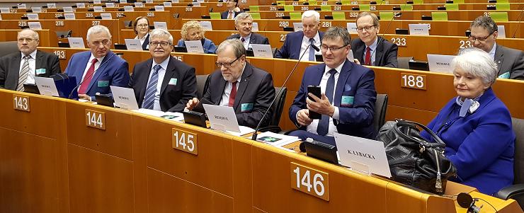 Wielkopolscy przedstawiciele nauki w Brukseli