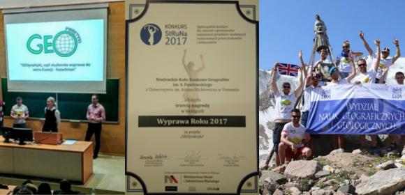 FUND_AKCJA: Projekt GEOpraktyki ponownie na podium prestiżowego konkursu!
