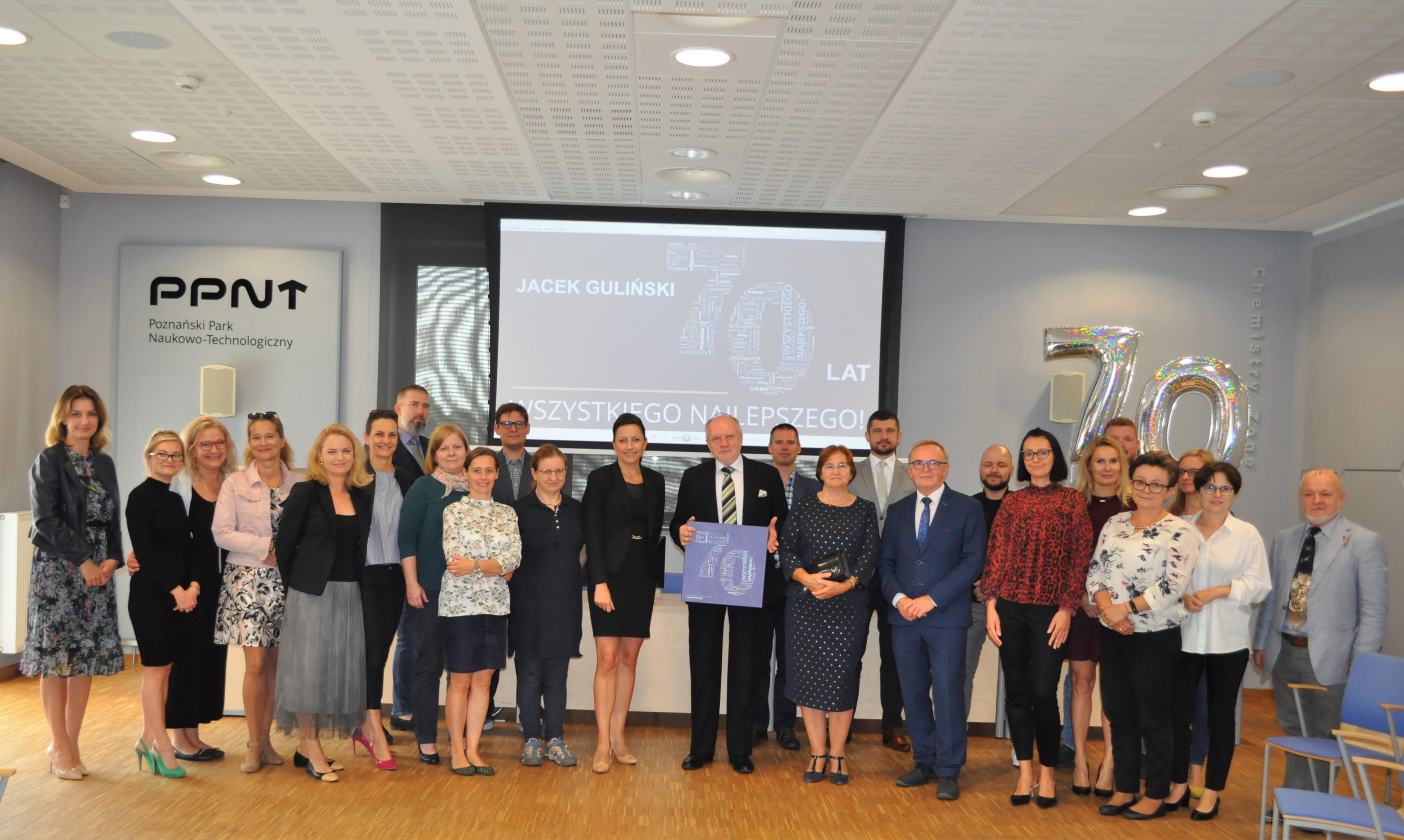 Medal Homini Vere Academico, spotkanie po 50 latach – jubileusz prof. Jacka Gulińskiego